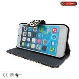 iPhone 7 случая телефона вспомогательного оборудования случая PU кожаный добавочное