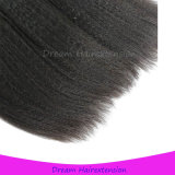 Горячие продавая волосы девственницы Kinky прямых человеческих волос бразильские