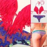 Señora Triangle Swimwear del desgaste de la playa del bañador del traje de baño del bikiní de la ropa interior