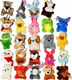 Brinquedo animal feito sob encomenda examinado ICTI do luxuoso da fábrica mini