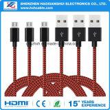 Hochgeschwindigkeits2.1a fasten aufladendes Mikro-USB-Kabel für Amazonas