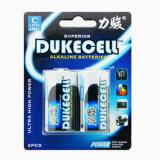 Bateria alcalina elevada da descarga 1.5V C para a venda por atacado