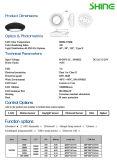 80~100W LED高い湾ライト倉庫の商業産業ランプ