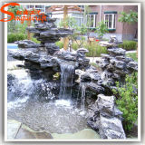 Fabrik-direkter künstlicher Plastikwasser-Brunnen für Garten-Dekoration