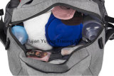 De grijze Zak van de Rugzak van het Mamma met de Grootte van de Douane
