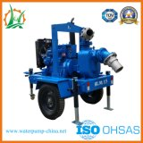 Motor diesel de la bomba Self-Priming Papelera de reciclaje de aguas residuales municipales