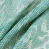 Tissu plissé par Crepe Chiffon de pli de polyester