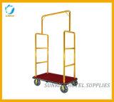 Тележка Bellman вагонетки багажа кроны гостиницы