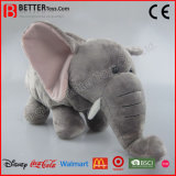 高品質現実的なプラシ天によって詰められる象のおもちゃ