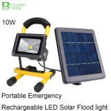 luz de inundação solar ao ar livre recarregável Emergency Multifunctional portátil do diodo emissor de luz 3W