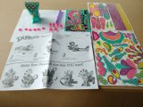 Juguetes de papel de los cabritos DIY para el Animal-Pavo real