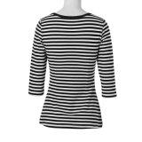 最新のデザイン半分の袖に着せている卸し売り中国の明白なTシャツの女性