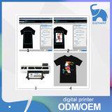 Alta Eficiencia mejor calidad de la camiseta impresora plana digital de textiles