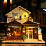 Dollhouse de madera del nuevo diseño 2017