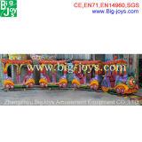 Езды поезда парка атракционов, электрический поезд для детей (BJ-ET14)
