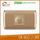 Interruptor de la pared del regulador del ventilador de la aprobación del IEC Saso del Ce