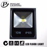 옥외를 위한 주조 알루미늄 10W LED 플러드 빛을 정지하십시오