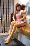 158cm hohe Hip Baby-Gesichts-Mädchen-Geschlechts-Puppe mit realem Geschlechts-PuppePussy