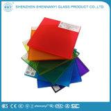 Sicherheit, die freies flaches ausgeglichenes lamelliertes dekoratives farbiges Glas aufbaut