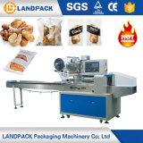 Saco de almofadas automático do fluxo de pão de padaria máquinas de embalagem