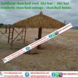 Курорты острова коттеджа Thatched крыши листьев ладони синтетического Thatch искусственние