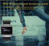 IP67 imperméabilisent le bracelet intelligent avec le moniteur du rythme cardiaque