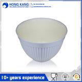 Crear el tazón de fuente plástico de Sala para requisitos particulares de la melamina unicolor