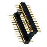 Custom 2,54 mm soquete IC Conector de Pinos do conector de pino usinado