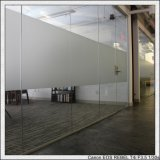 матированное стекло 4-15mm/Sandblasted стеклянное/кисловочное травленое стекло для здания