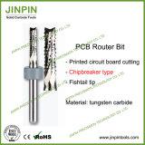 Type de broyeur à carbure massif de qualité excellente Bit de routeur PCB