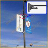 Светлое Поляк рекламируя систему напряжения флага знамени (BT-BS-056)