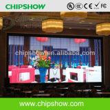 Alta Definição Chipshow P6 a cores de tela do display LED para interior