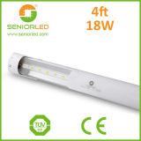 Lampes fluorescentes à tube fluorescent T8 à LED rigide