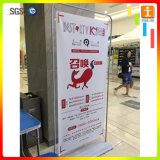 Roll Up Display Stand Banner horizontal