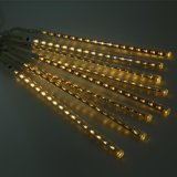 illuminazione esterna 100-240V di festa dell'indicatore luminoso della stringa del giardino della festa nuziale dell'indicatore luminoso di natale del tubo LED della pioggia dell'acquazzone di meteora 8 di 20cm 30cm
