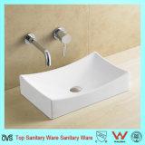 Dispersore di ceramica della stanza da bagno del fornitore di Ovs Cina senza foro del rubinetto