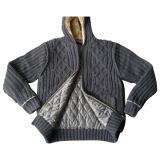 남자의 뜨개질을 한 스웨터, 모직 카디건 (SFY-A126)