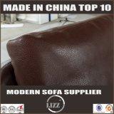 2017年の中国Lizzの家具の熱い販売の革Sofa