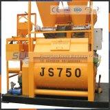 1회분으로 처리 플랜트를 위한 Js750 모래와 시멘트 믹서 가격