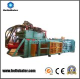Bonjour machine de emballage hydraulique automatique de papier de rebut de presse avec le convoyeur pour le carton de papier de rebut réutilisant Hfa10-14