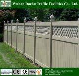 Belle et la clôture de la vie privée en vinyle PVC certifiée