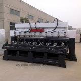 Jcw1325r-10h CNC-Holzbearbeitung-Fräser mit multi Köpfen