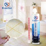 Malta liquida bianca delle mattonelle di pavimento della varia stanza da bagno preparata di colori