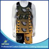 カスタムGameのためのSublimation Men Lacrosse Uniforms