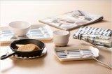 100%Dinnerware melamina - Bandeja de orelhas /bandeja com alça (QQ9019)