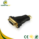 Adattatore di spina nero portatile del convertitore della Femmina-Femmina HDMI