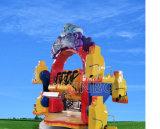 Máquinas de Juegos de atracciones de circo feliz paseos infantil para la venta