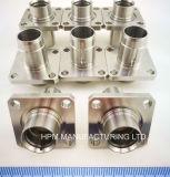 Personnalisé d'usinage CNC en acier inoxydable Partie insert corps Bouchon de flasque de montage