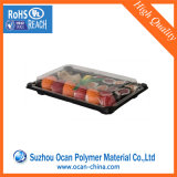 Экологически безопасный жесткий ПЭТ для продуктов питания в блистерной упаковке контейнер