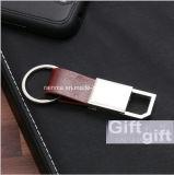 Logo personnalisé Corporate Office Articles-cadeaux entreprise titulaire de carte de voyage en cuir pour ordinateur portable de chaîne de clé ensemble cadeau de plumes